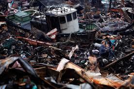 Earthquake/tsunami aftermath