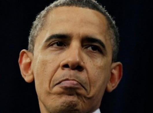 Obama.Pouting